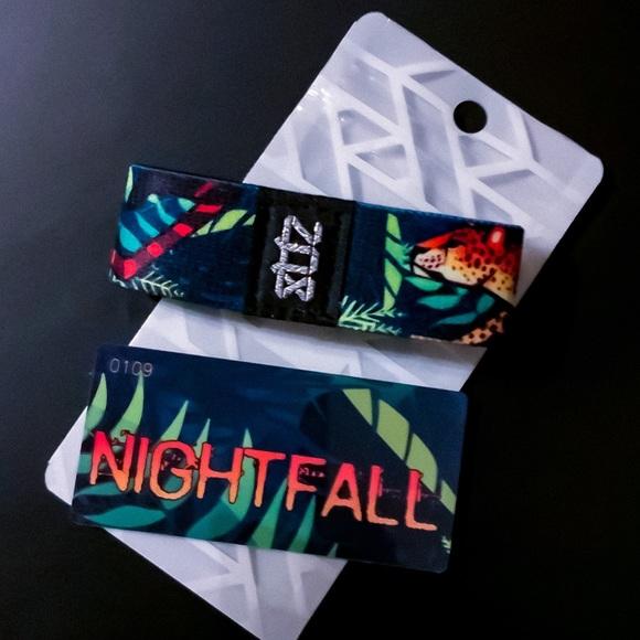 ZOX Strap Wristband- Nightfall *Cheetah / Leopard NWT